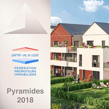 LES JARDINS D'ORÉLIE (45)  – Pyramide d'Argent